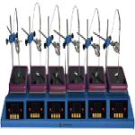 6- Position hotplate stirrer LB-80HPS