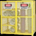 Gas cylinder storage cage LB-60GCC